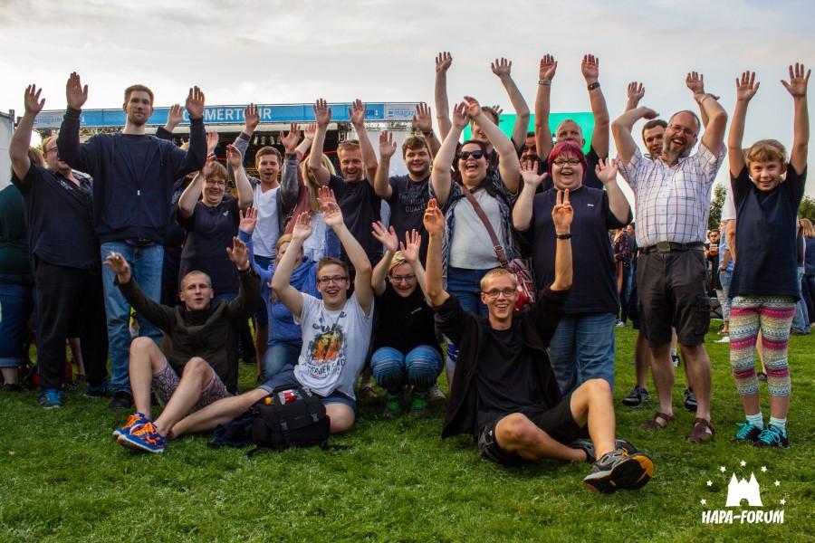 Das HAPA-Forum auf einer Veranstaltung des NDR